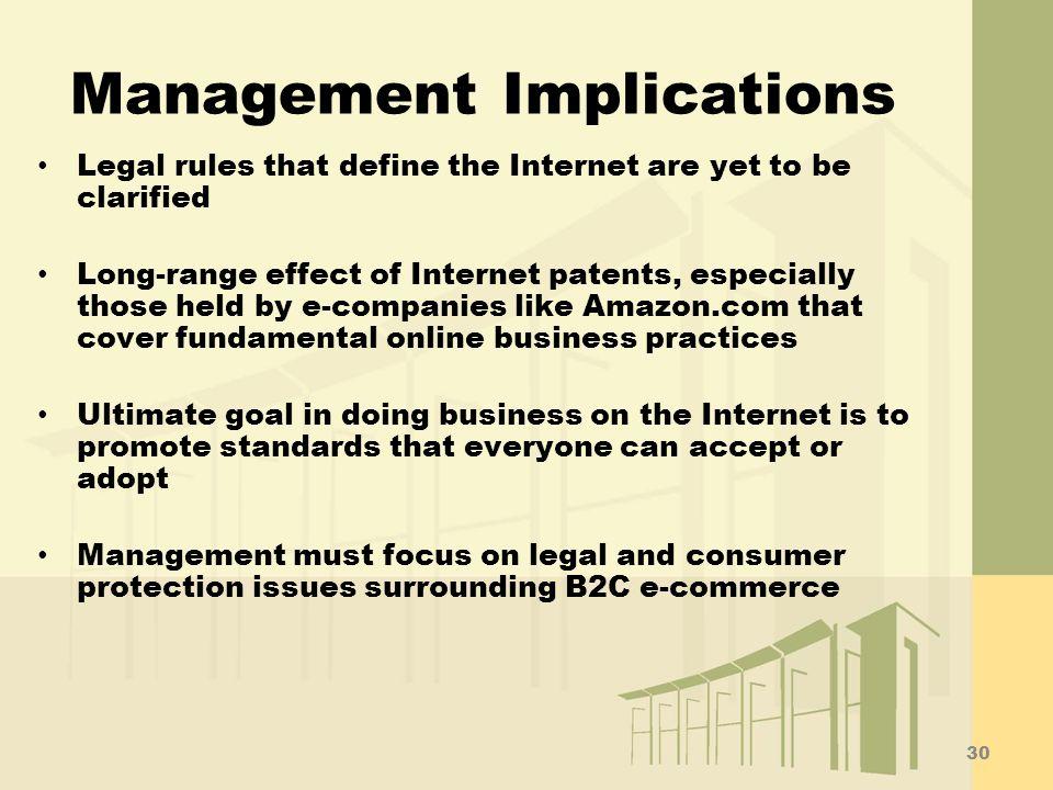 Management Implications