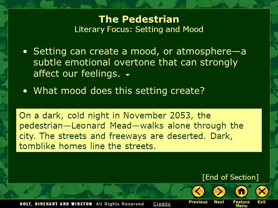the pedestrian ray bradbury pdf