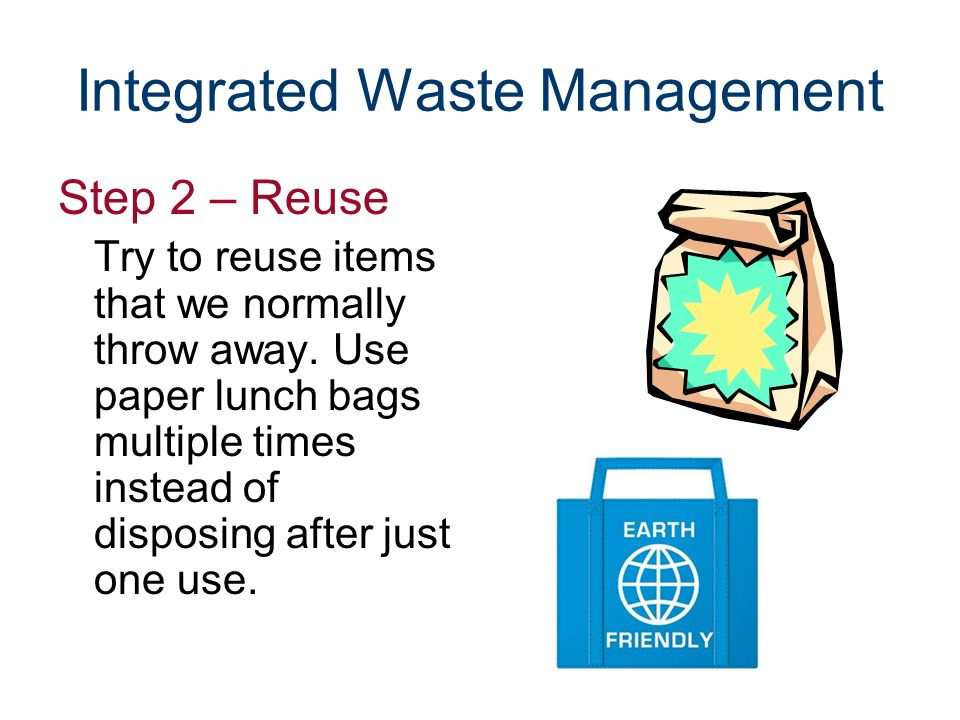 Integrated Waste Management - Ppt Download
