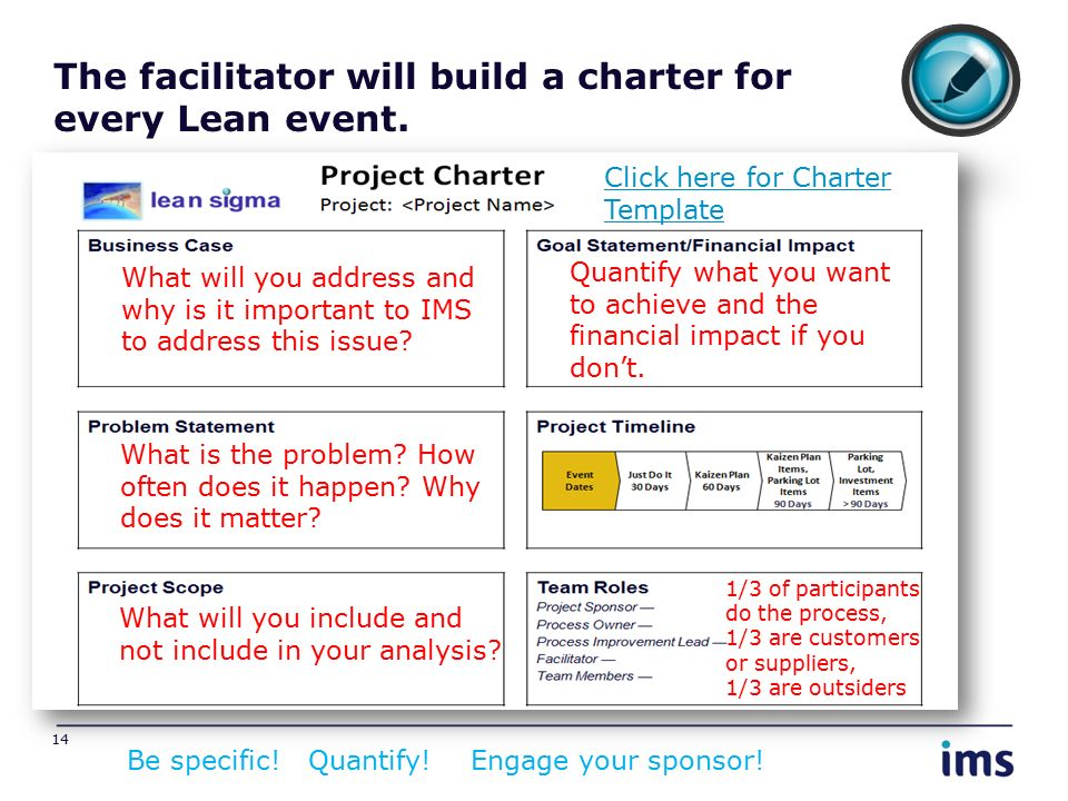 leansigma facilitator training ppt download