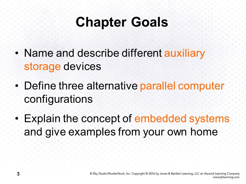 Chapter Goals Name And Describe Diffe Auxiliary Storage Devices