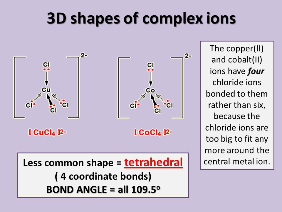 Transition metals complex ions ppt video online download