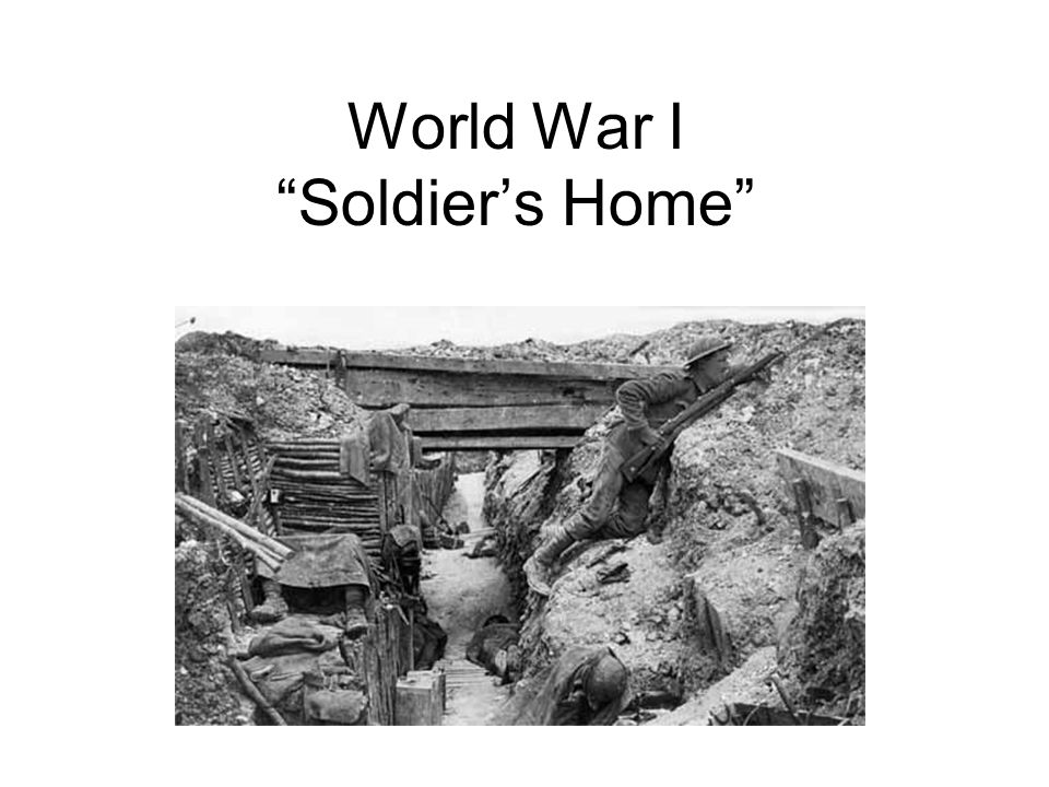 World War I Soldier S Home