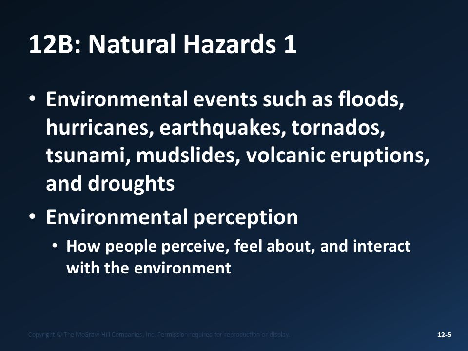 tornados earthquakes hurricanes informative outline Hurricanes, earthquakes, tornadoes, volcanoes, floods, wildfires, and winter storms it does not discuss the management of debris from acts of terrorism or other homeland security.