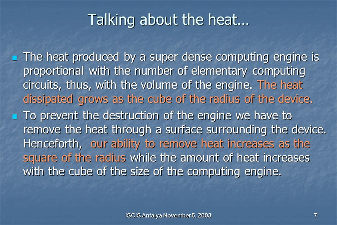 Talking about the heat…