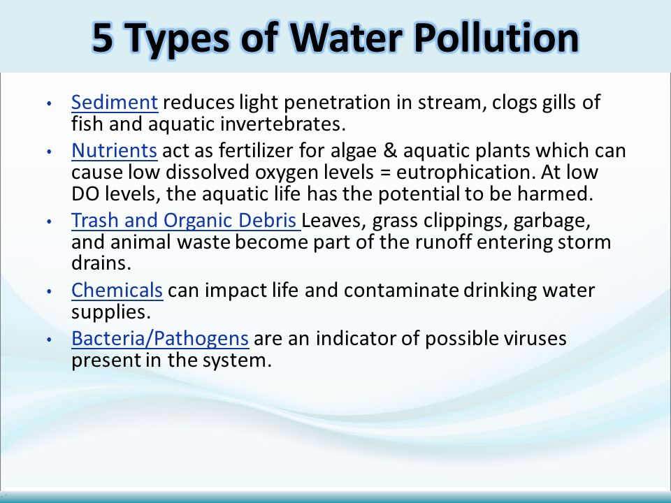 General Water Quality Facts Ppt Video Online Download