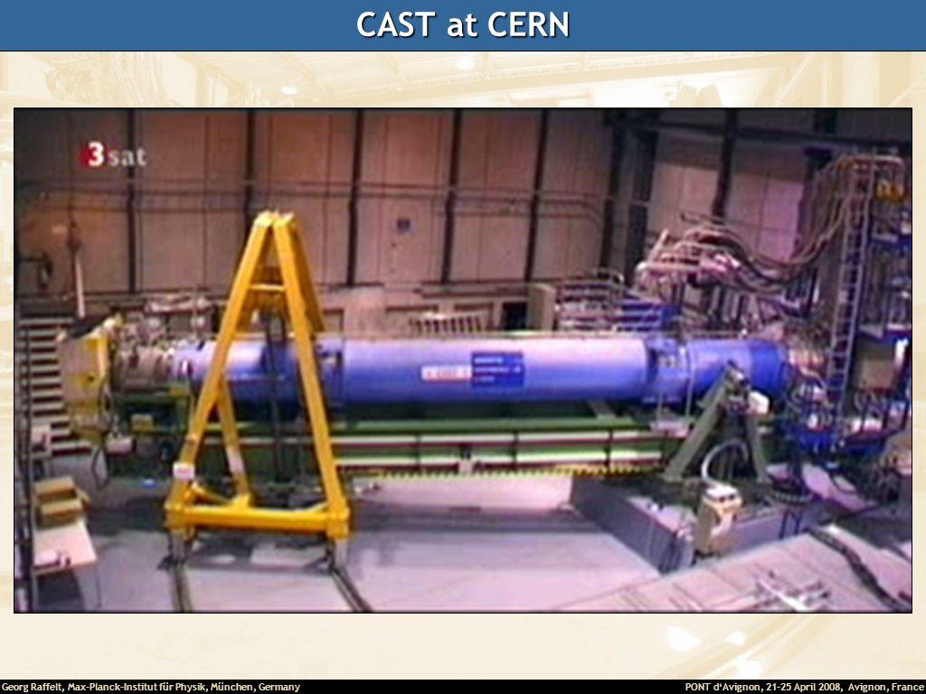 CAST at CERN