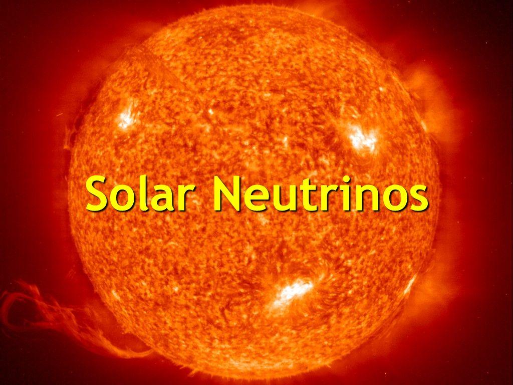 Neutrinos from the Sun Solar Neutrinos