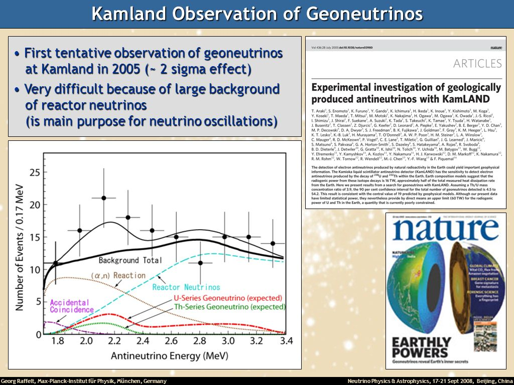 Kamland Observation of Geoneutrinos