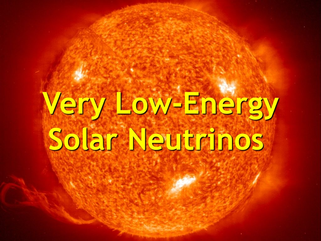 Very Low-Energy Solar Neutrinos