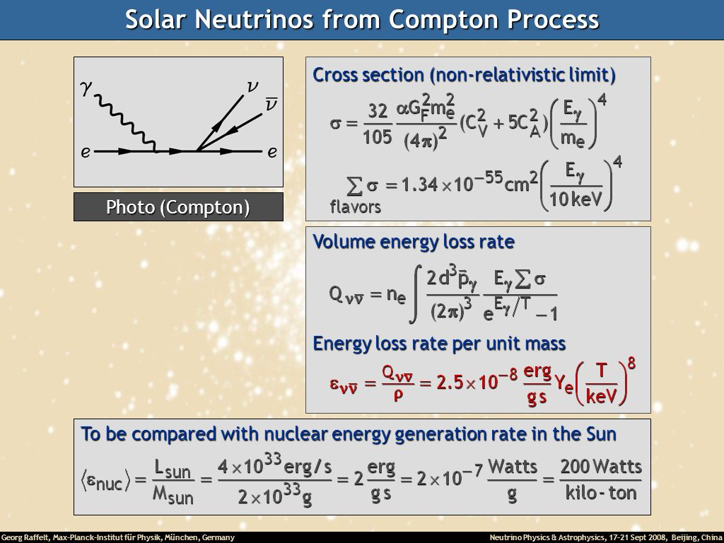 Solar Neutrinos from Compton Process