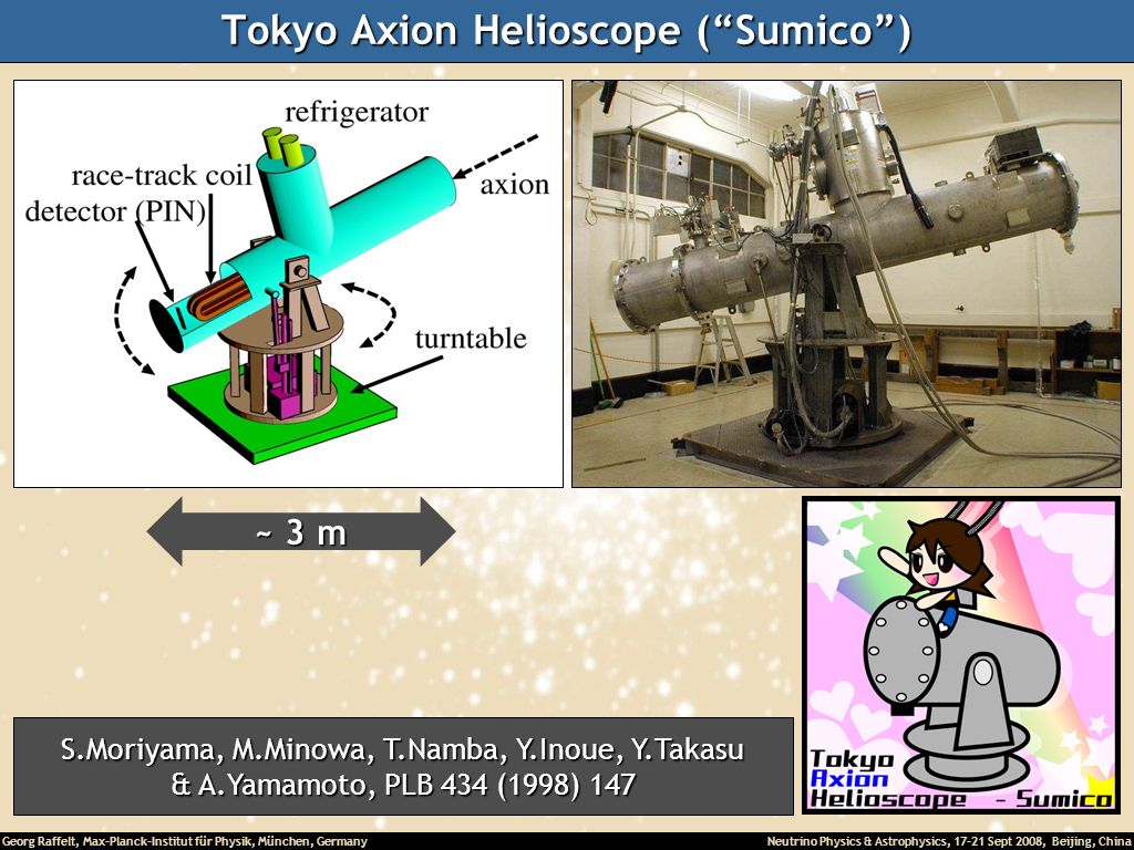 Tokyo Axion Helioscope ( Sumico )