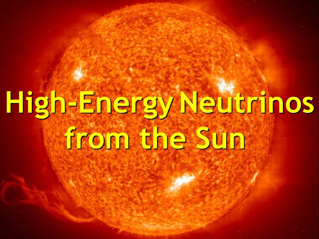 High-Energy Neutrinos