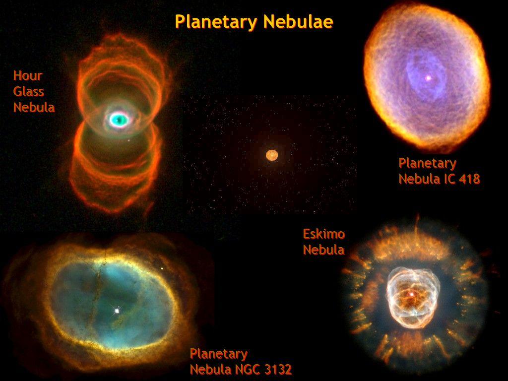 Planetary Nebulae Hour Glass Nebula Planetary Nebula IC 418 Eskimo