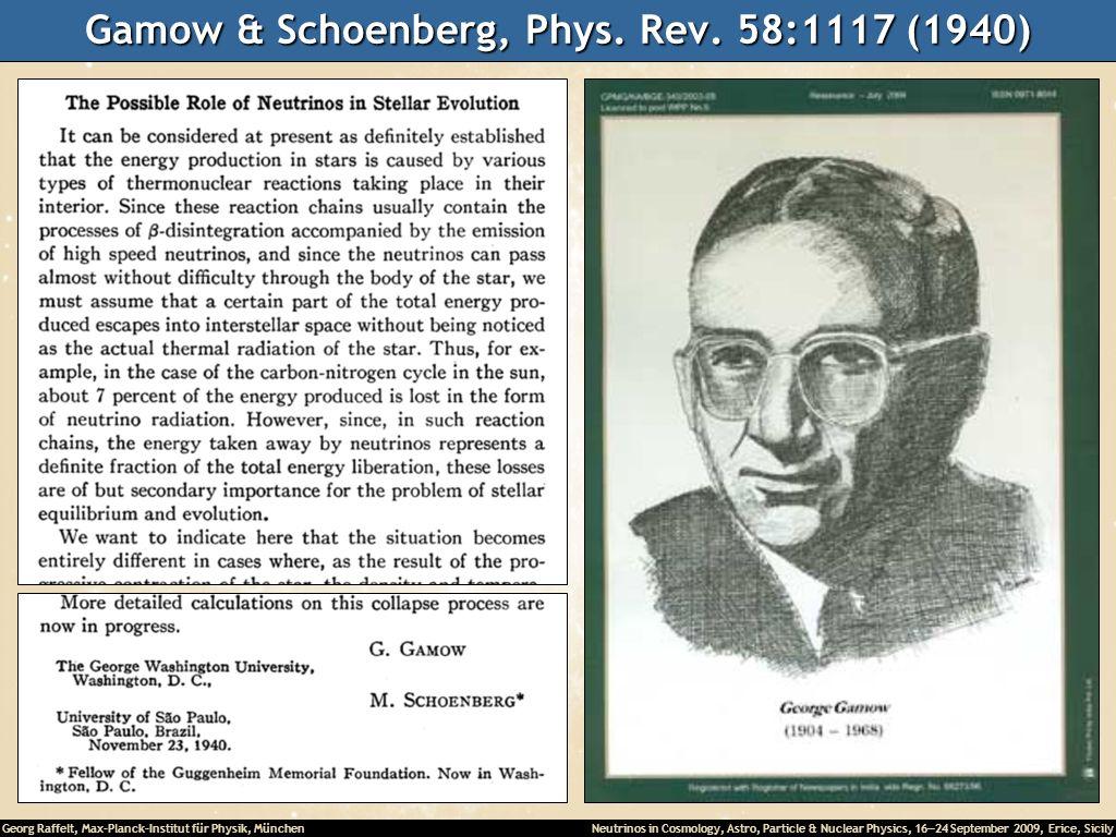 Gamow & Schoenberg, Phys. Rev. 58:1117 (1940)
