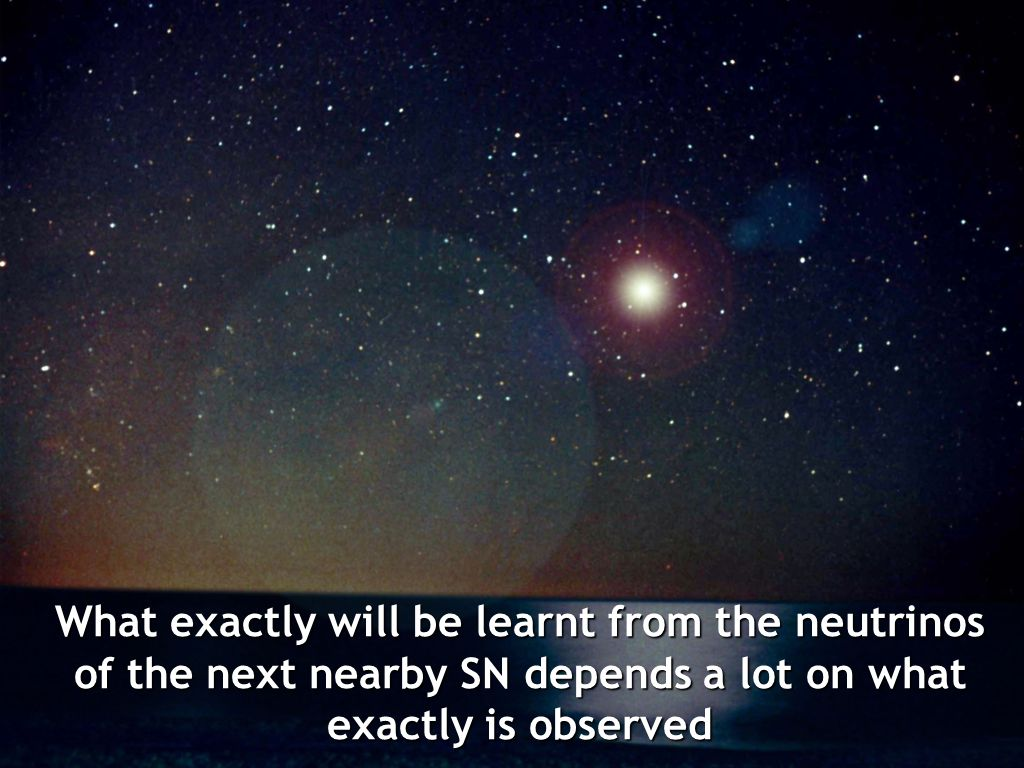 What exactly will be learnt from the neutrinos