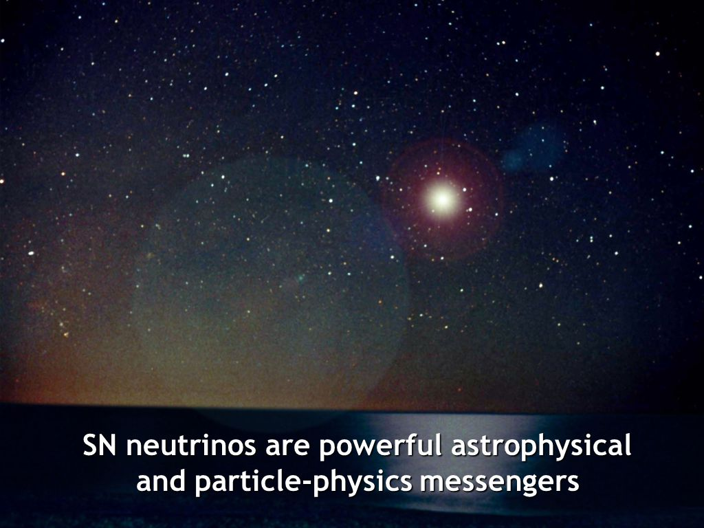 SN neutrinos are powerful astrophysical