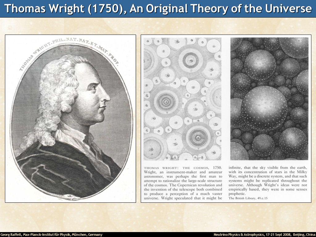 Thomas Wright (1750), An Original Theory of the Universe