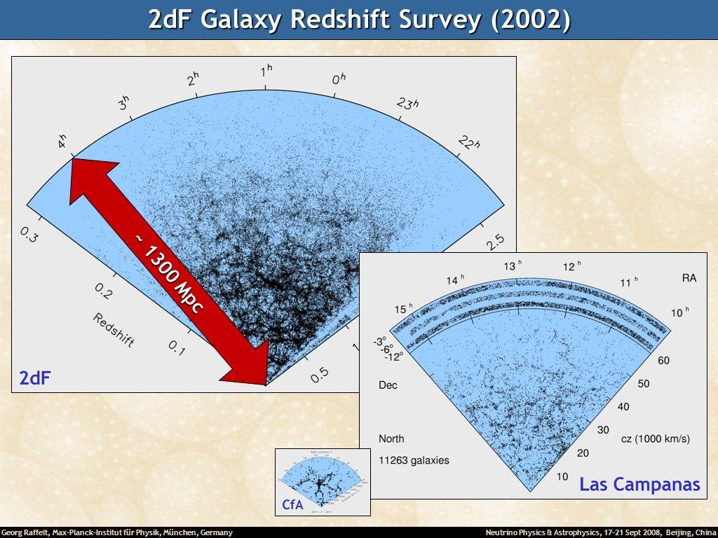 2dF Galaxy Redshift Survey (2002)