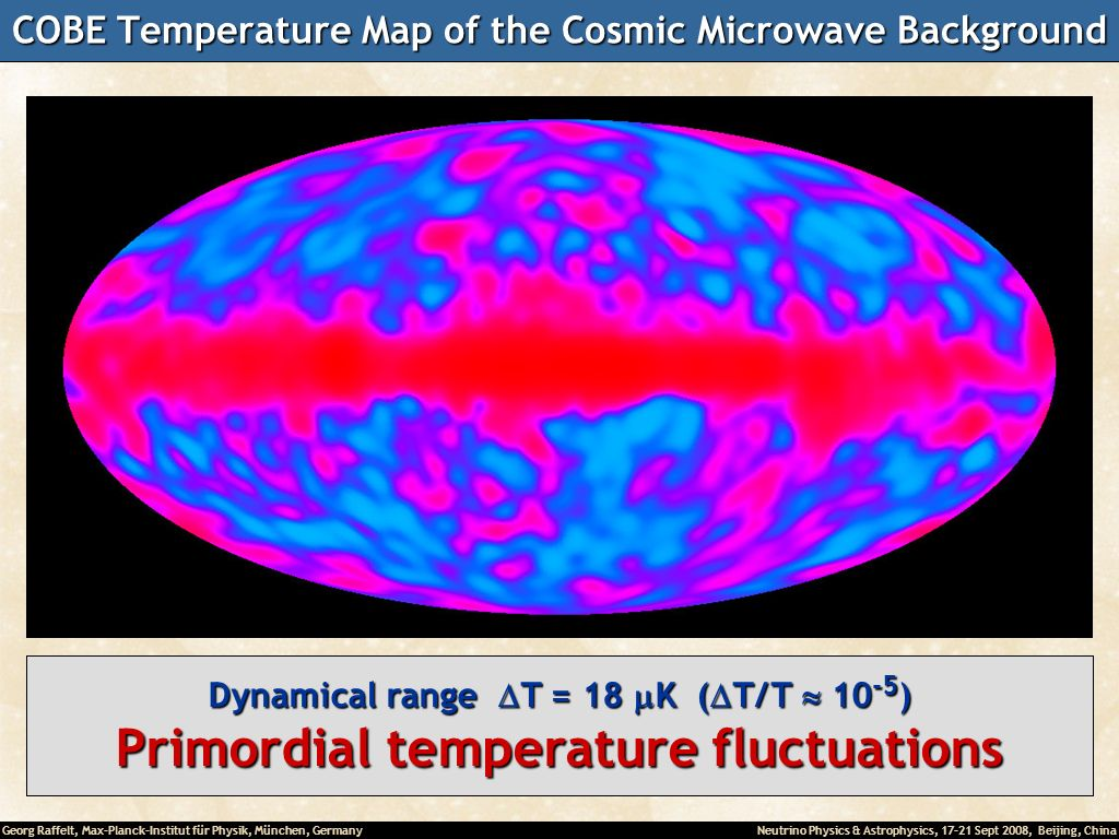 COBE Temperature Map of the Cosmic Microwave Background