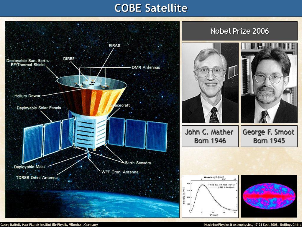 COBE Satellite Nobel Prize 2006 John C. Mather Born 1946