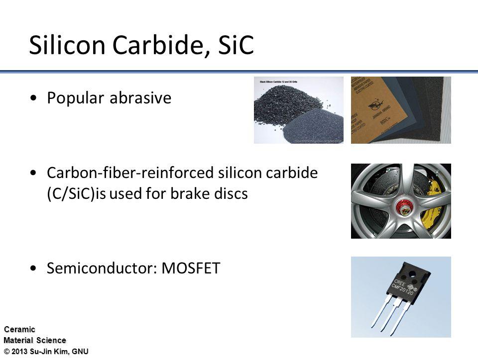 Silicon Carbide Fibers : Ceramics 세라믹 associate professor su jin kim ppt video