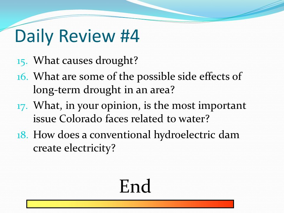Daily Review #3 End How do rivers and streams form? - ppt download