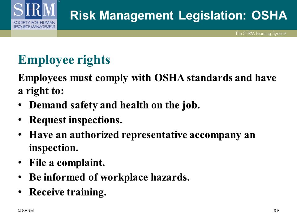 legislative framework for health safety and risk management essay What are the key points of the legislative framework for health, safety, and risk management in residential childcare settings for children and young people.