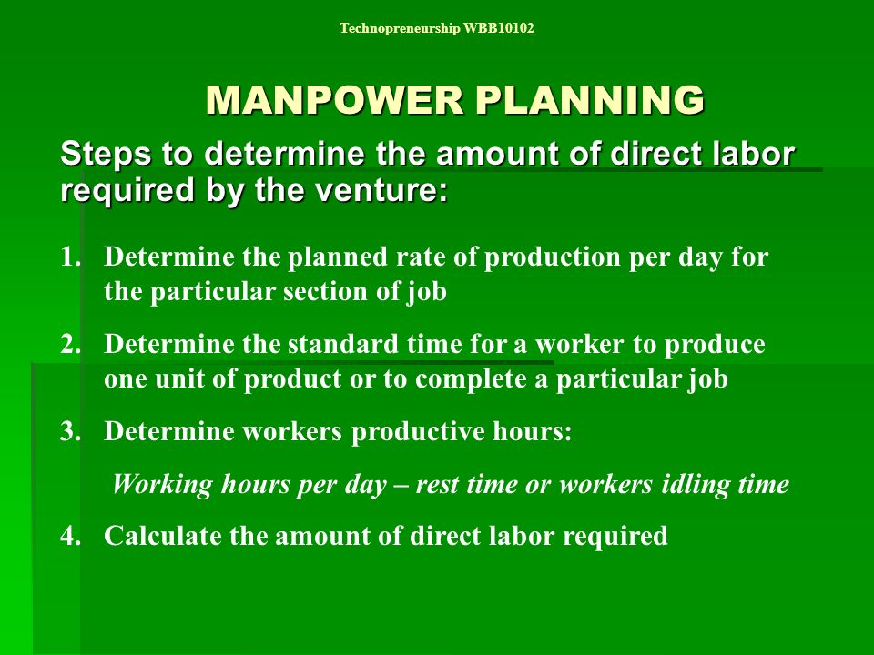 how to find direct labor hours per unit