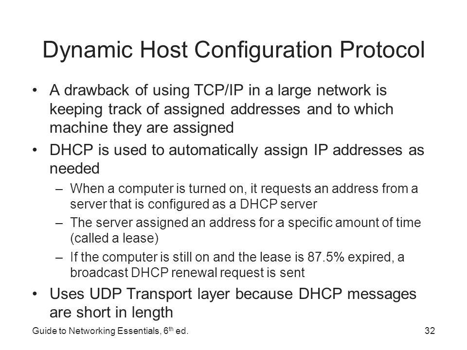 dynamic host configuration protocol essay