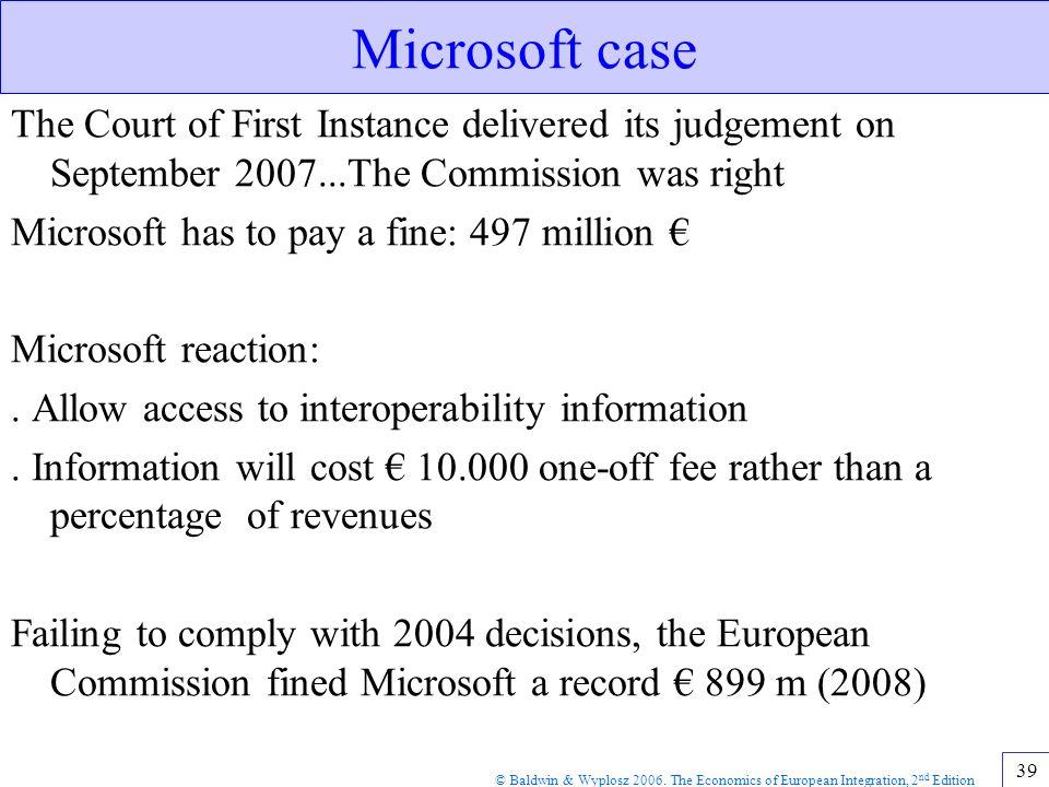 economics microsoft case The total economic impacttm of microsoft windows defender advanced threat protection.