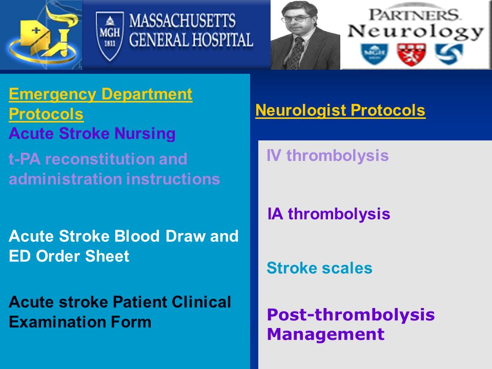 Guidelines in the acute management of Ischemia stroke 0-3 ...