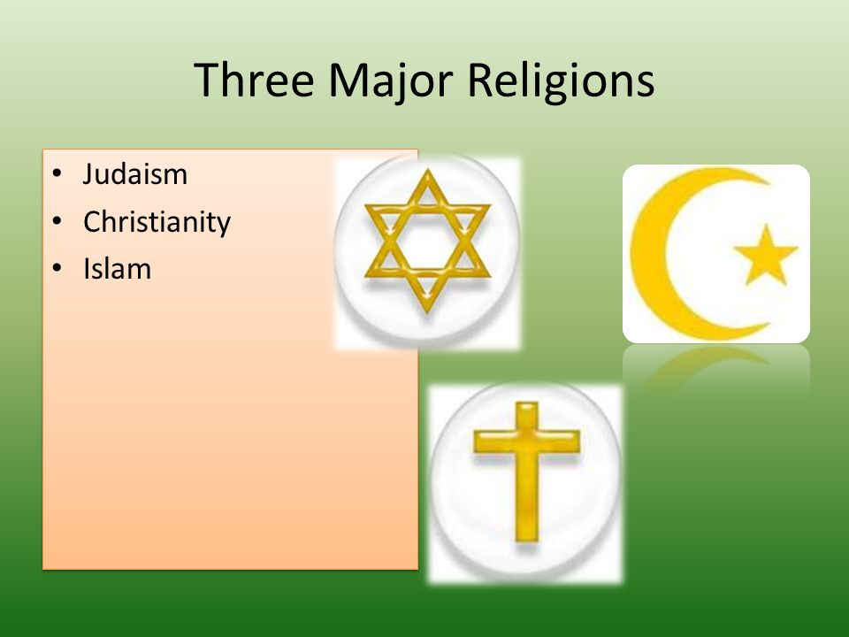 Major Religions In Europe Ppt Download - 3 major religions