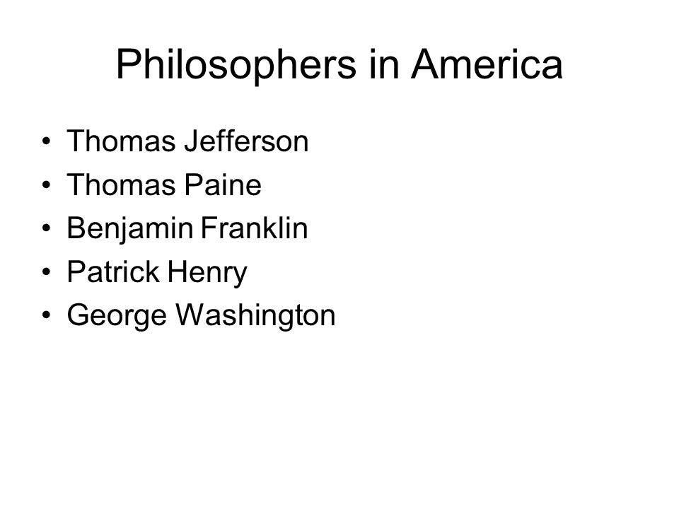 Jefferson and the Enlightenment