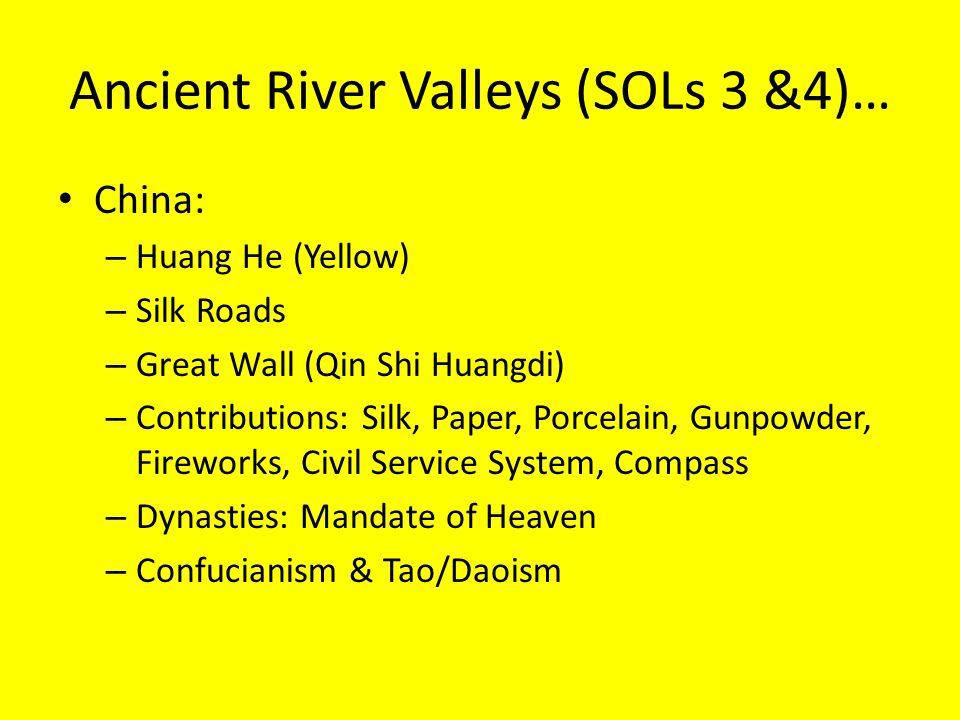 Unit 1 sols 2 4 early man river valley civilizations ppt ancient river valleys sols 3 4 sciox Choice Image