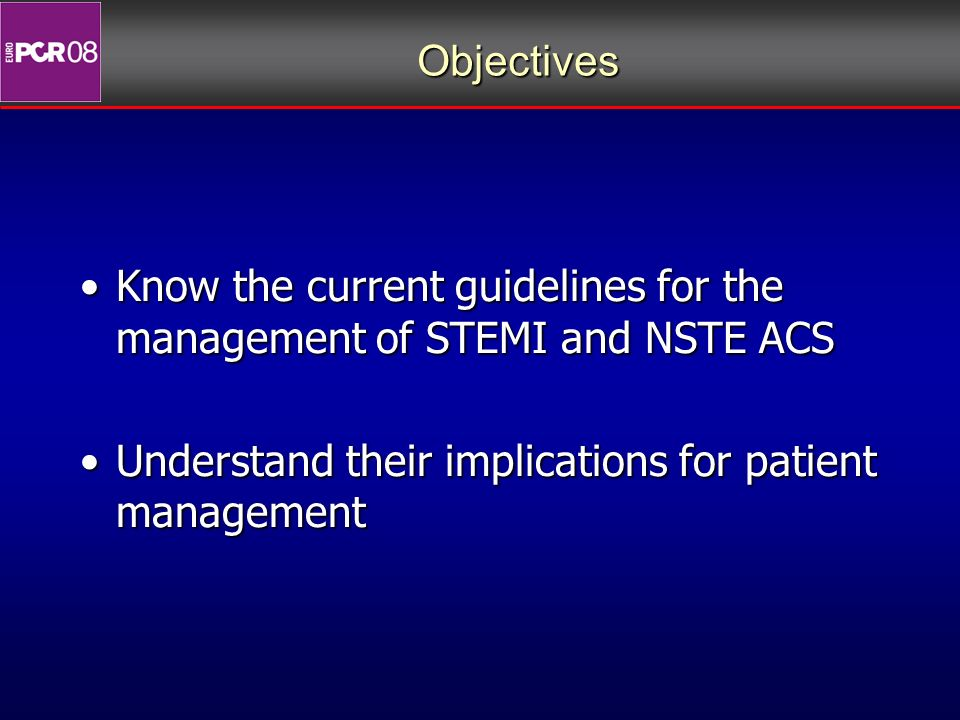 st-elevation myocardial infarction stemi guidelines