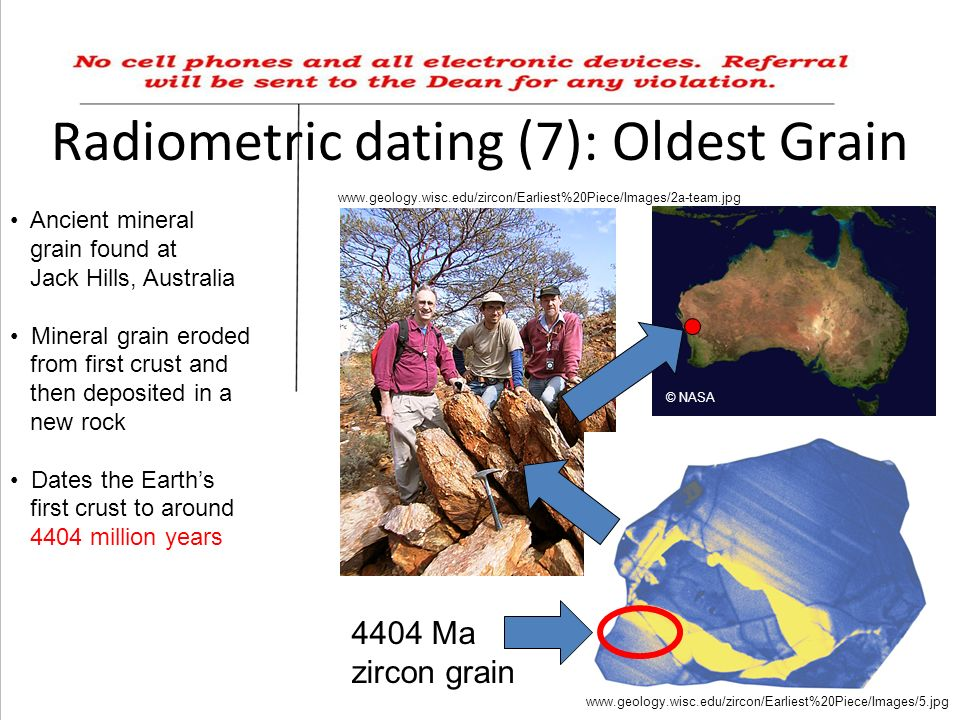 45 ma radiometric dating