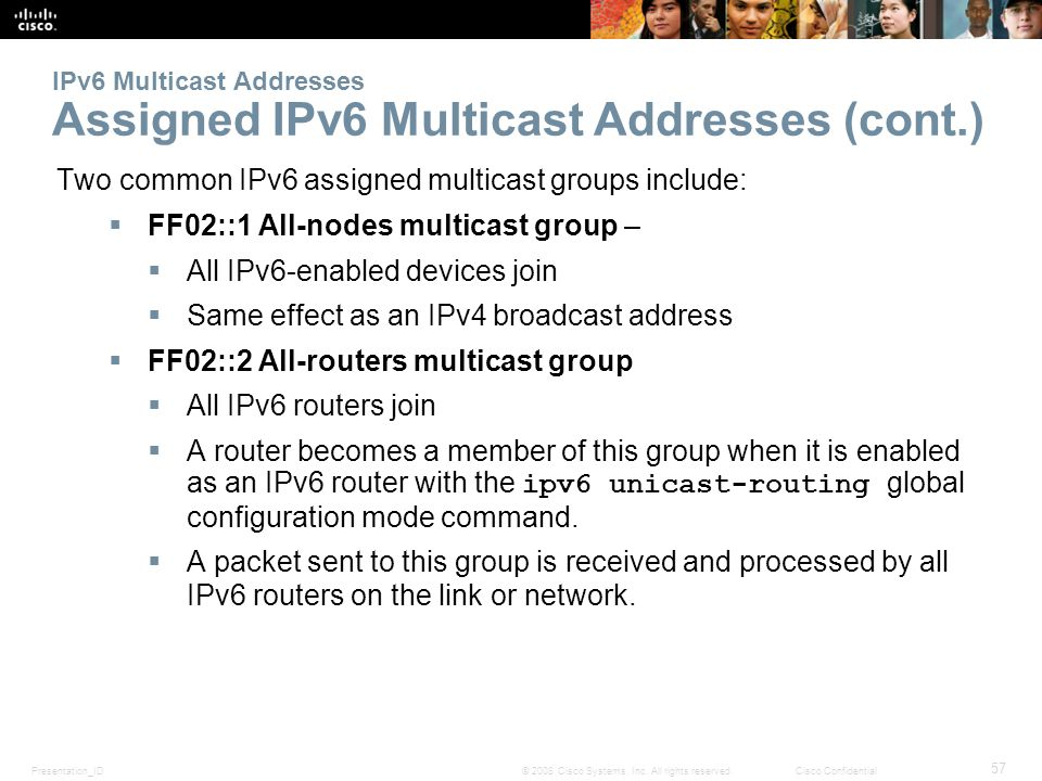 ipv6 address assignment Learn about ipv6 addressing and address types, dynamic ipv6 address assignment using slaac, stateless dhcpv6 and stateful.