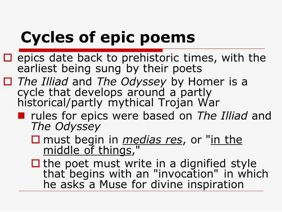 A Short Summary of the Epic Odyssey By Homer