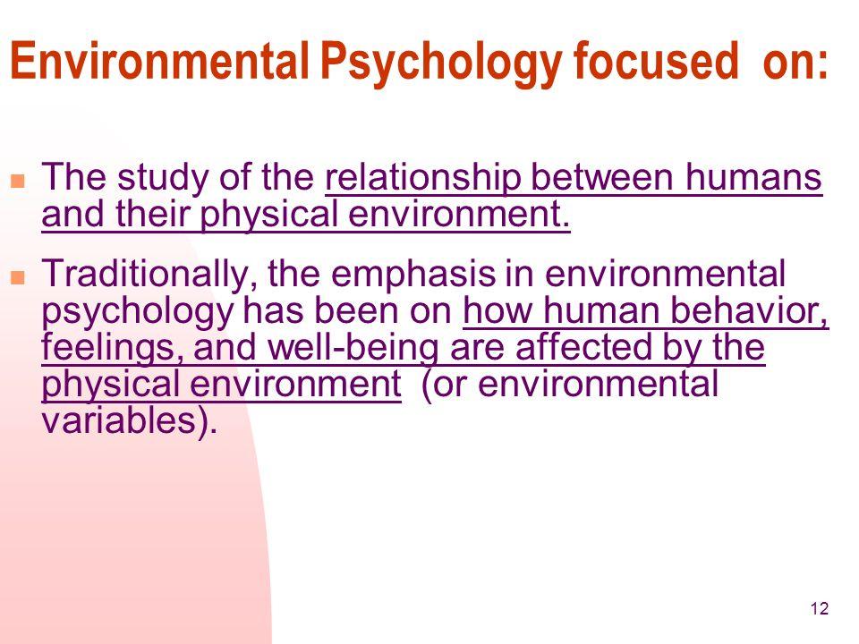 The Human: Basic Psychological Principles