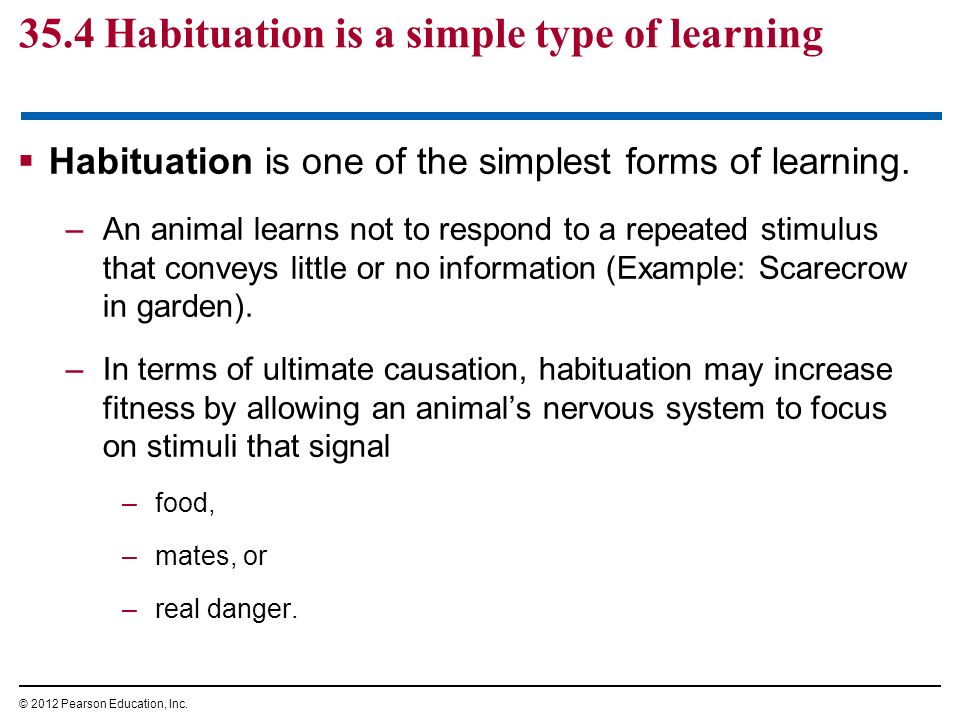 Chapter 35 Behavioral Adaptations to the Environment - ppt video ...