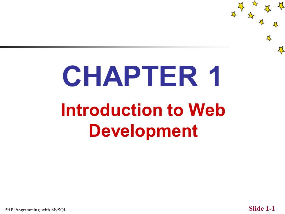 Web development pdf php mysql