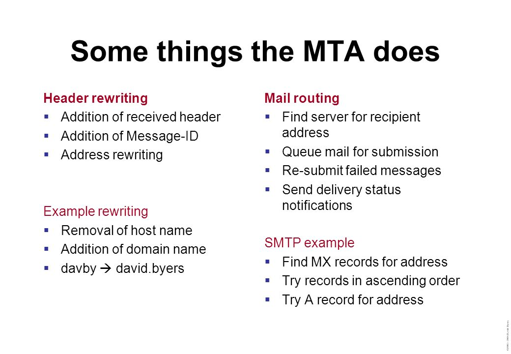 Some things the MTA does