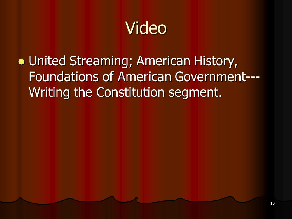 an overview of the writers of the constitution of the american history In 1787 and 1788, following the constitutional convention, a great debate took place throughout america over the constitution that had been proposed.