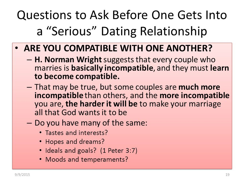 from Bode questions to ask a person before dating