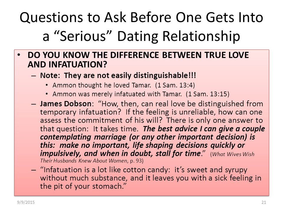Important questions to ask a girl before dating