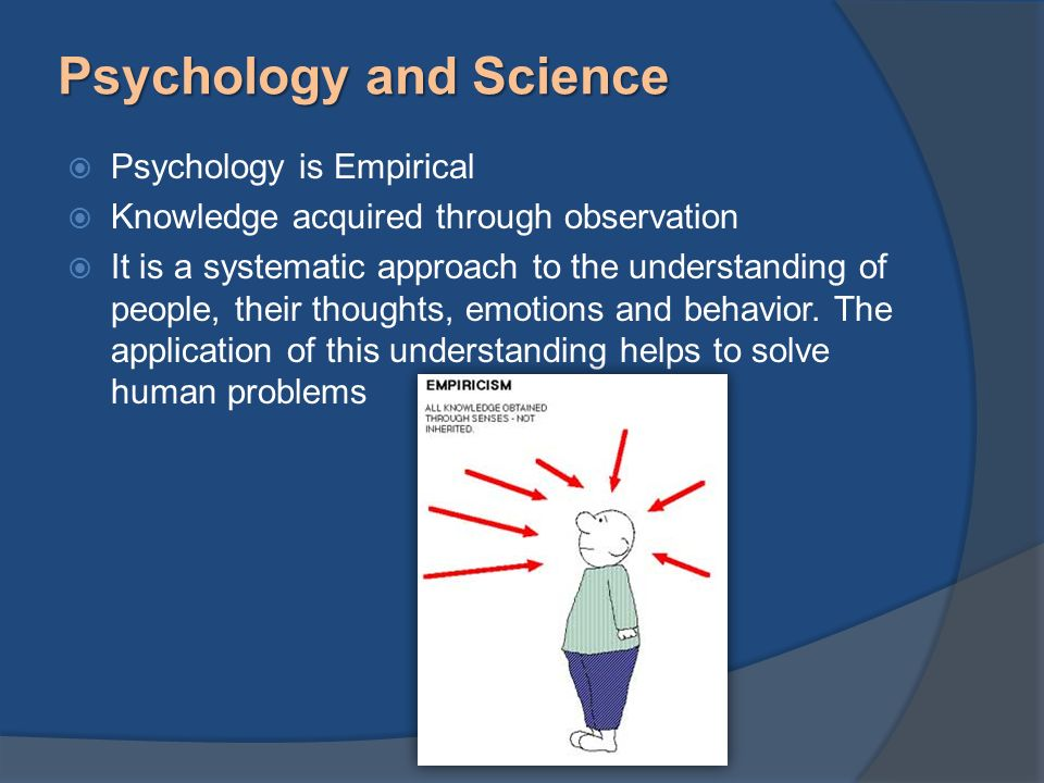 """psychology understanding human behavior the According to the american psychological association, behavioral psychology (or behaviorism) is a """"scientific approach that limits the study of psychology to measurable or observable behavior."""