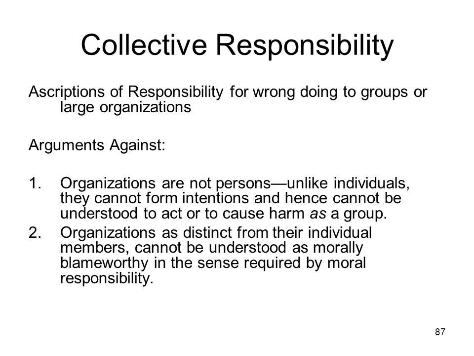 Responsibility Accountability And Liability Ppt Download