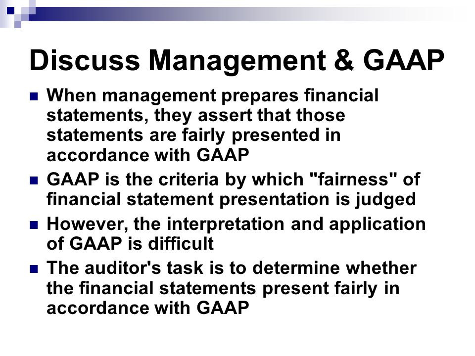 importance of auditing