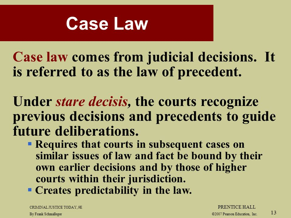 the law of precedent Start studying the common law and precedent learn vocabulary, terms, and more with flashcards, games, and other study tools.